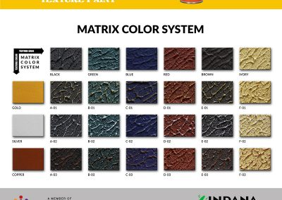 00 Vircan Matrix Color System