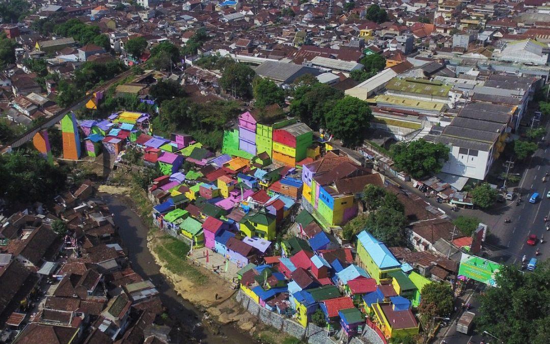 Kampung Warna Warni di Kota Malang