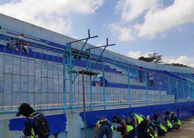 Indana - Mixone Warnai Stadion Kanjuruhan 05