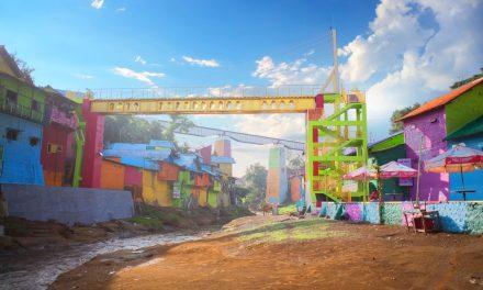 Jembatan Kaca Pertama di Indonesia