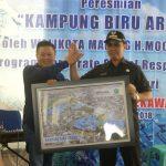 Peresmian Kampung Biru Arema Malang