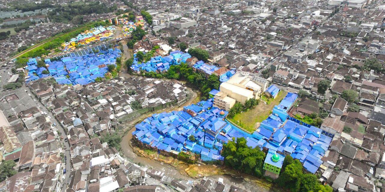 Peresmian Kampung Biru Arema