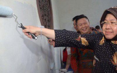 Indana Warnai Kota Tua Surabaya